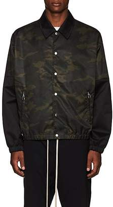 Helmut Lang Men's Camouflage Tech-Twill Coach's Jacket