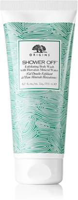 Origins Shower OffTM Exfoliating body wash with Hawaiian Mineral Water