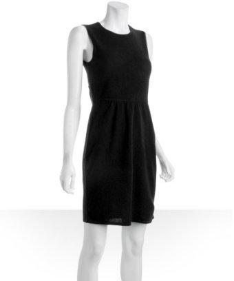 Design History black cashmere crewneck sheath dress