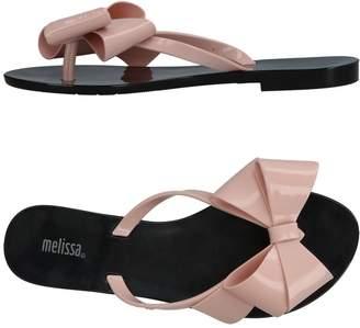 Melissa Toe strap sandals