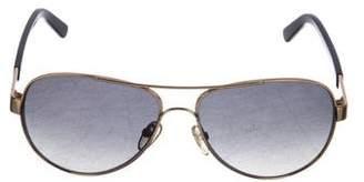 Tory Burch Polarized Aviator Sunglasses