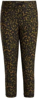 The Upside NYC leopard camo-print leggings