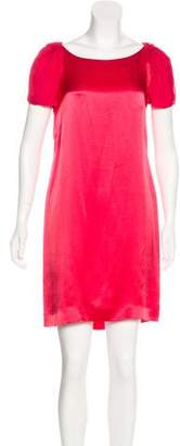 Philosophy di Alberta Ferretti Ruffled Silk Dress w/ Tags