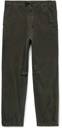 Stone Island Shadow Project Stretch-Cotton Drawstring Trousers