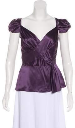 Prada Sleeveless Silk Top