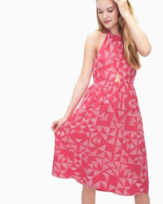 Splendid Sail Print Halter Dress