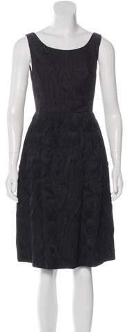 MICHAEL Michael KorsMichael Kors Sleeveless A-Line Dress