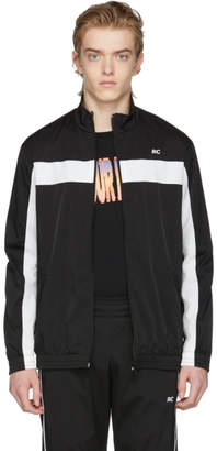 Resort Corps Black and White RC Zip-Up Track Jacket