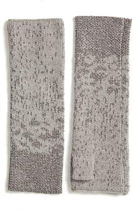 Eileen Fisher Metallic Fingerless Gloves