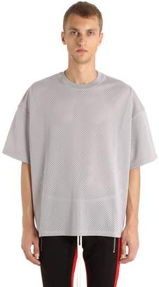 Fear Of God Oversized Techno Jersey & Mesh T-Shirt