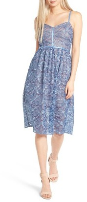 Women's Devlin Eloise Embroidered Lace Slipdress $138 thestylecure.com