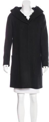 pradaPrada Wool Hooded Coat