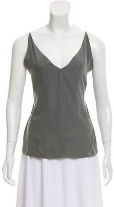 J Brand Silk Sleeveless Top