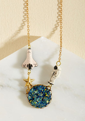 Eclectic Eccentricity Better, Asteroid, Stronger Necklace $28 thestylecure.com