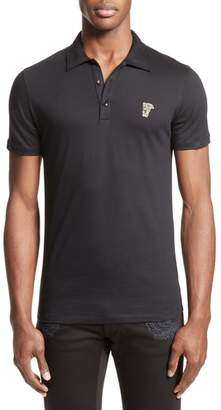 Versace Trim Fit Polo