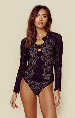 Nightcap Clothing VICTORIAN FAN BODYSUIT EXC