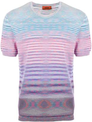 Missoni color block striped T-shirt