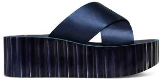Tory Burch SCALLOP WEDGE SLIDE
