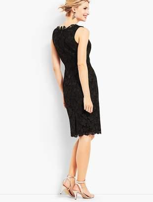 Talbots Lace Sheath Dress