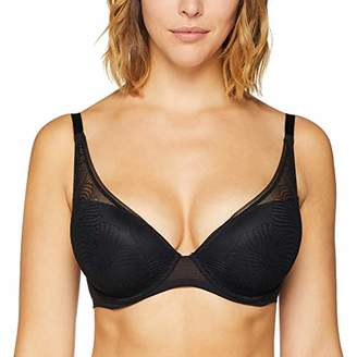 Wonderbra Women's Fabulous Feel Padded Triangle Wired Bra,(Size: Taille Fabricant 90C)