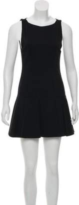 Alice + Olivia Sleeveless Mini Dress