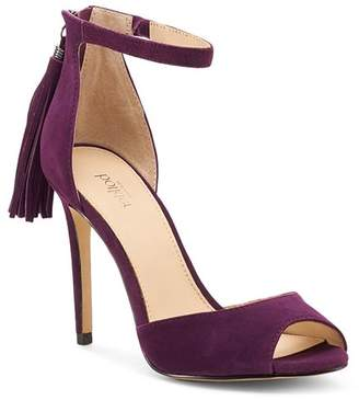 Botkier Women's Anna Suede Ankle Strap High-Heel Sandals