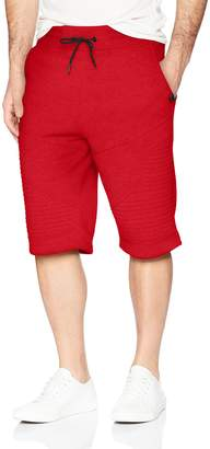 Akademiks Men's Big and Tall Smoke Fleece Short