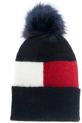 Tommy Hilfiger bobble beanie