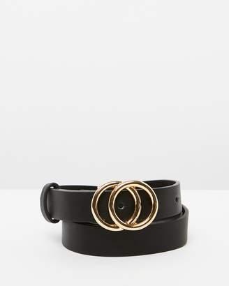 DECJUBA Thin Double Circle Belt