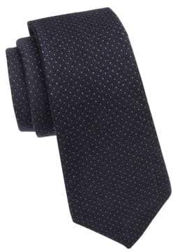 Ralph Lauren Purple Label Pin Dot Silk Tie