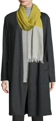 Eileen Fisher Heathered Jersey Kimono Cardigan, Petite $398 thestylecure.com