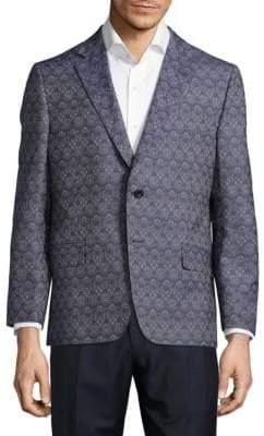 Hickey Freeman Milburn Patterned Cotton Jacket