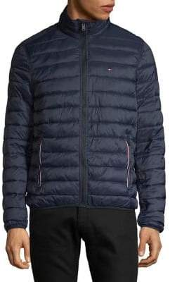 Tommy Hilfiger Zip-Up Quilted Jacket