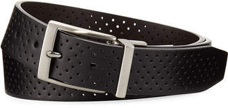 Nike Reversible Perforated Belt, Black/Brown