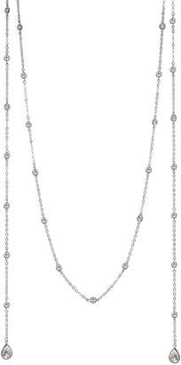Kenneth Jay Lane CZ by Cz By Plated 60In Lariat Necklace