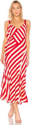 Jill Stuart Striped Maxi Dress