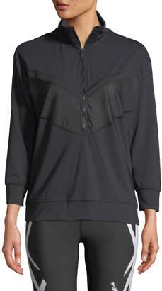 Alala Quarter Zip Long-Sleeve Pullover Jacket