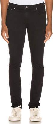 Nudie Jeans Skinny Lin in Black Black | FWRD