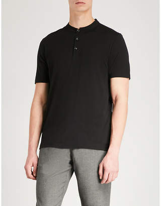HUGO Regular-fit cotton-jersey polo shirt