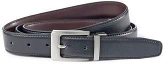 CASTALUNA MEN'S BIG & TALL Reversible Leather Belt