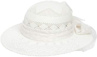 Maison Michel New Alice Crochet Effect Straw Hat