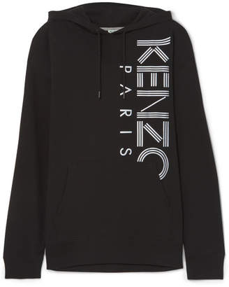 Kenzo Printed Cotton-jersey Hoodie