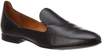 Aquatalia Emmaline Waterproof Metallic Leather Loafer
