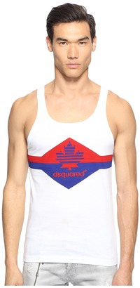 DSQUARED2 - Fruit of D2 Tank Top Men's Sleeveless $195 thestylecure.com