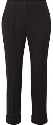 Prada - Stretch-wool Slim-leg Pants - Black