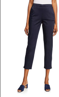 Masai Padme Stretch-Cotton Slim-Fit Cropped Trousers