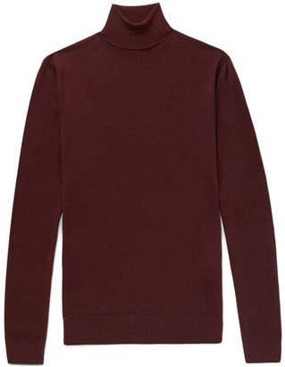 Boglioli Slim-Fit Mélange Wool Rollneck Sweater