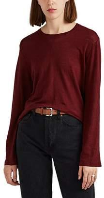 IRO Women's Letoon Linen T-Shirt - Wine
