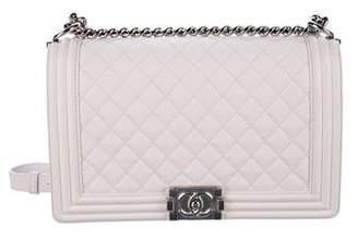 Chanel 2018 Medium Plus Caviar Boy Bag w/ Tags