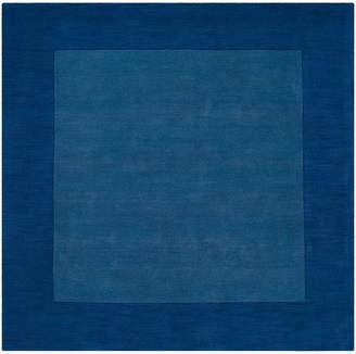 Surya Mystique M-308 Dark Blue 8' Square Area Rug